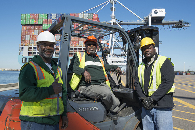 JAXPORT workers range from equipment and maintenance to accounting, marketing, port operations and more