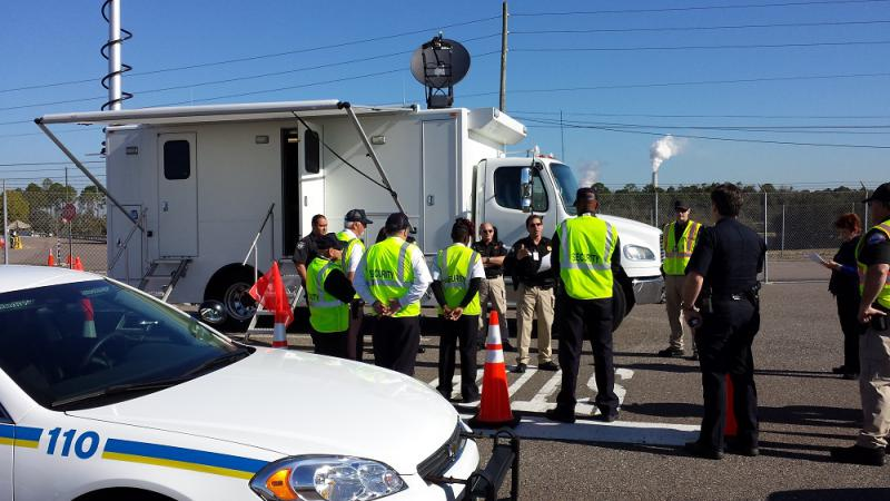 JAXPORT teams discuss emergency management plans for a wide range of events including natural disasters and hazard material