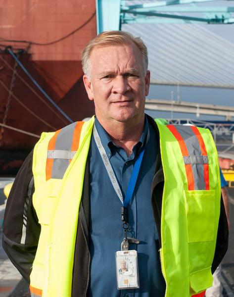 JAXPORT employee with required Federal Transportation Worker Identification Credential (TWIC)
