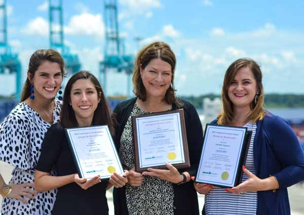 JAXPORT Recognized for Communications Excellence