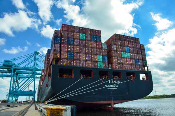 AXPORT's public seaport terminals achieved record growth in container volumes, recording double-digit growth during the fiscal year ending Sept. 30, 2018. JAXPORT moved nearly 1.3 million containers, a 23 percent increase over 2017. JAXPORT has set container volume records the past three years.