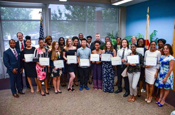 Local 1408 of the International Longshoremen's Association (ILA) today awarded $30,000 in scholarships to 28 area high school seniors and college students. ILA 1408 is a labor union representing many of the longshoremen and dock workers employed at JAXPORT's cargo terminals.