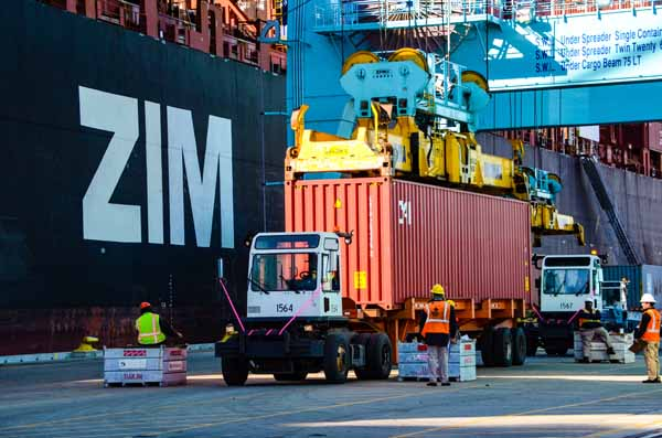 JAXPORT welcomes ZIM Lines to Jacksonville