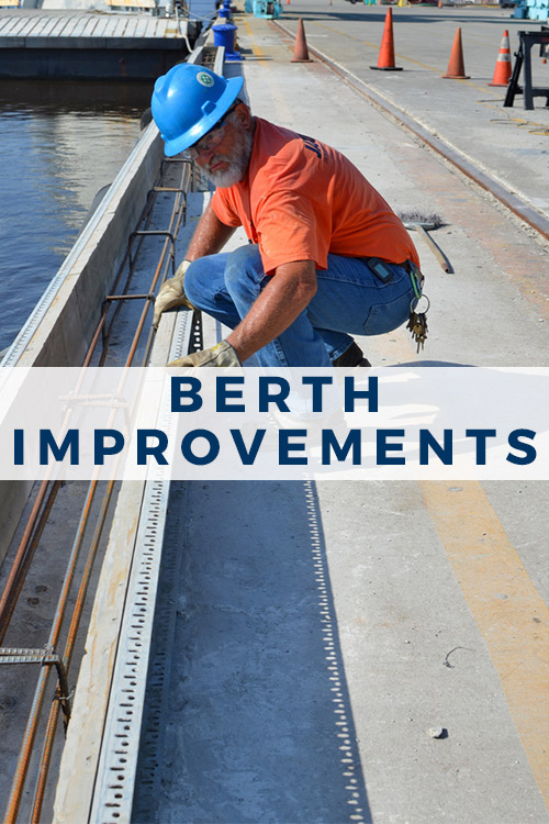 Berth improvements at JAXPORT