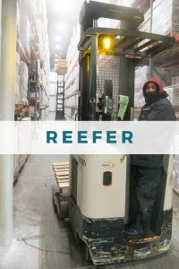 Reefer cargo at JAXPORT