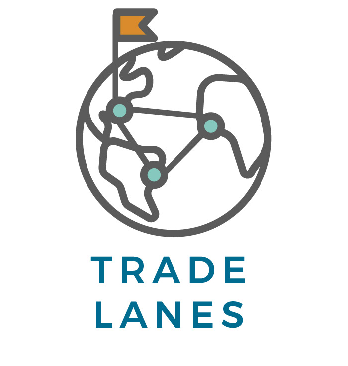 Trade Lanes icon