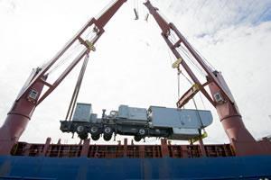 Heavy lift cargo
