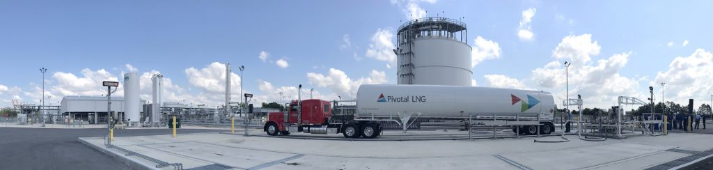 Pivotal LNG facility in Jacksonville Florida