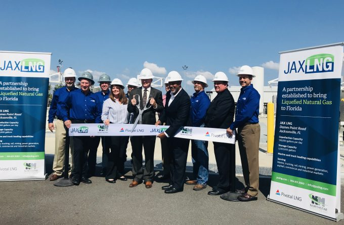 JAX LNG opens new facility in Jacksonville, Florida