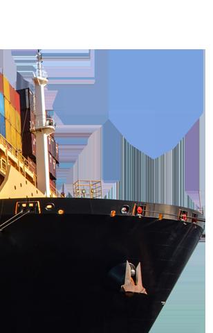 JAXPORT ship bow