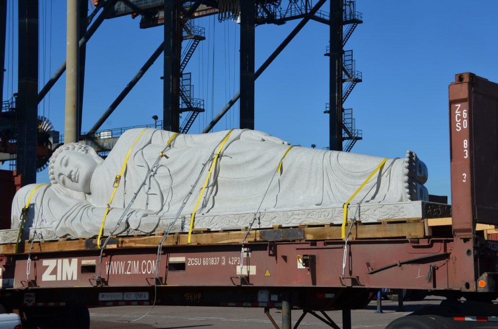 Project cargo at Jacksonville, Florida port