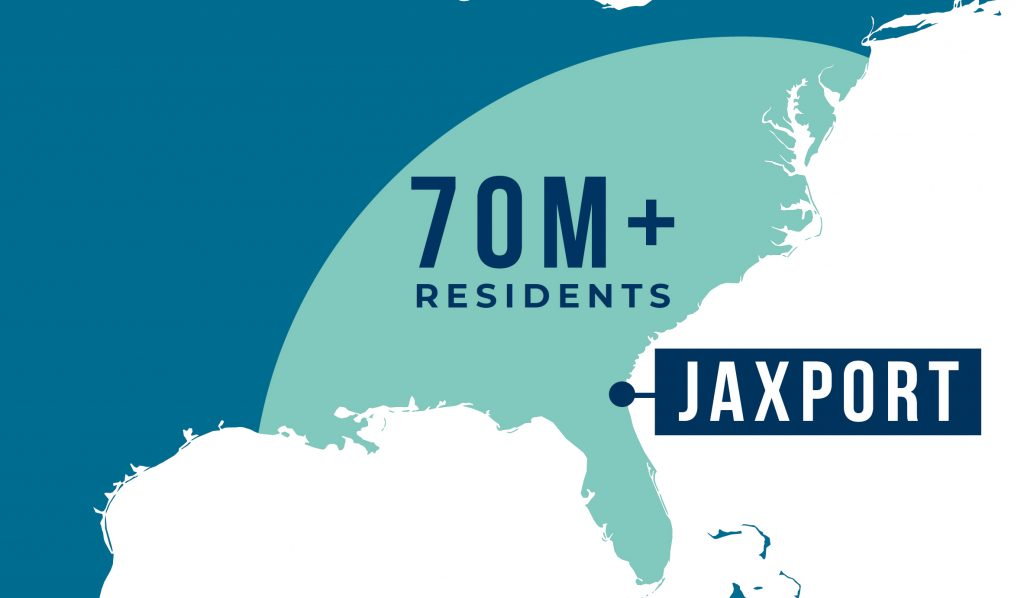 JAXPORT cruise reach