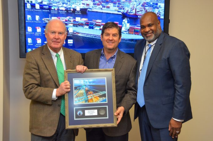 John Falconetti recognized for service to JAXPORT