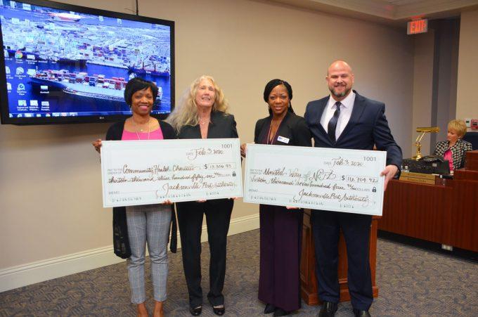 JAXPORT presents $30,000 to Northeast Florida charities