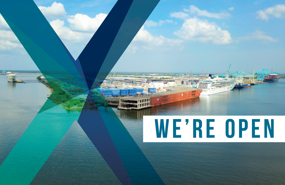 JAXPORT remains open during coronavirus