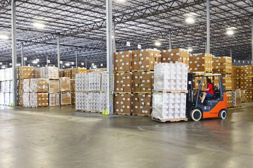 A warehouse in JAXPORT's FTZ No. 64