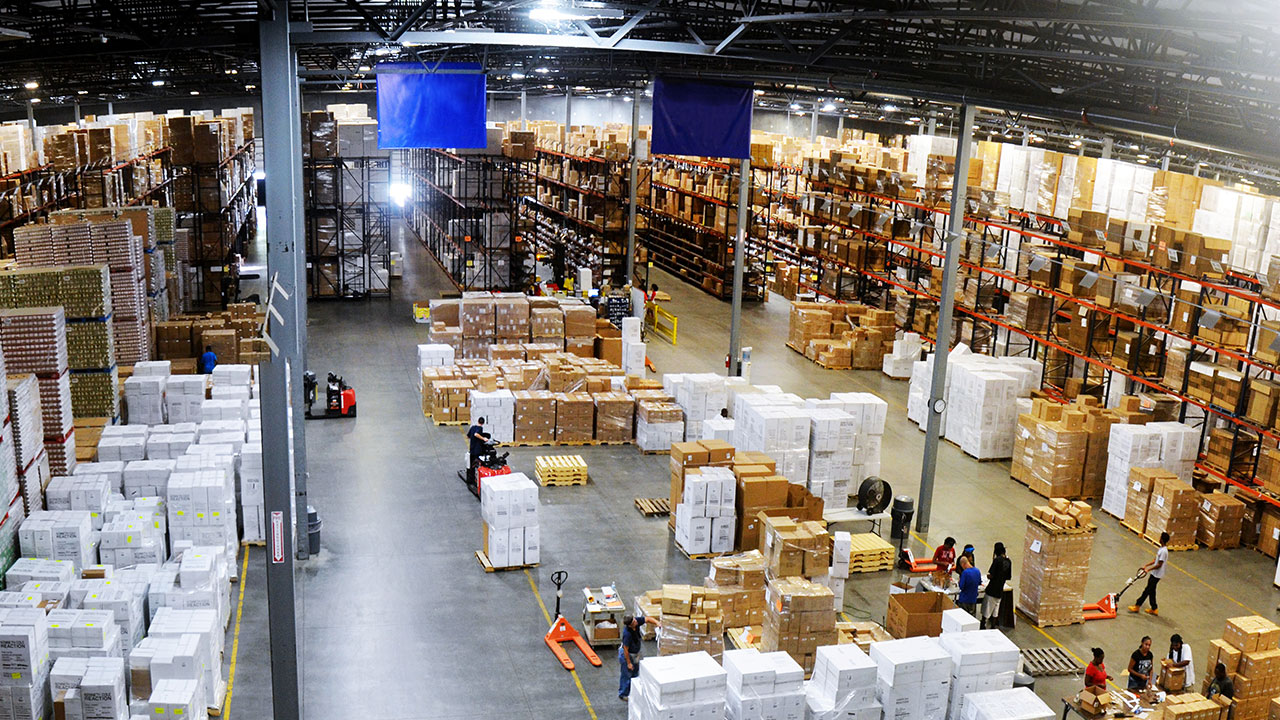 Northeast Florida offers available warehouse capacity.
