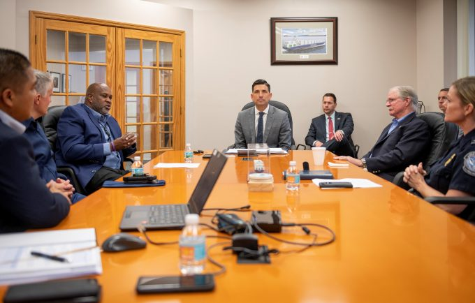 Acting Secretary of Homeland Security during a meeting at JAXPORT