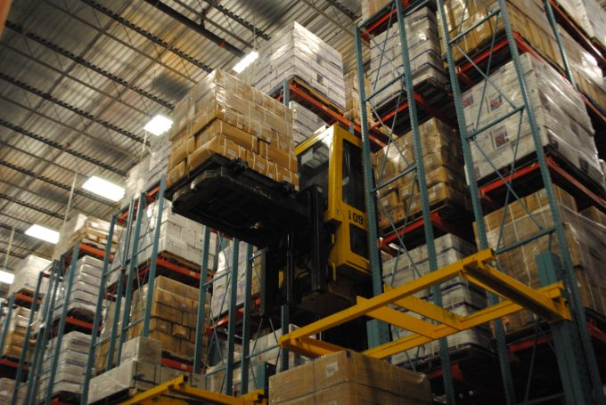 An inside look at the Seaonus Cold Storage Facility in Jacksonville, Florida.
