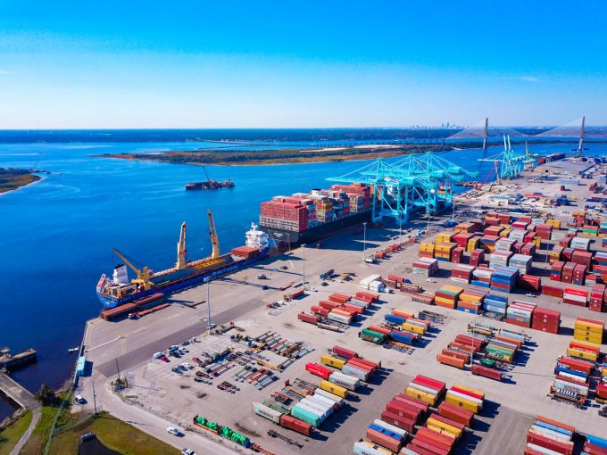 JAXPORT adds an additional 700 feet of newly reconstructed berthing space at Blount Island