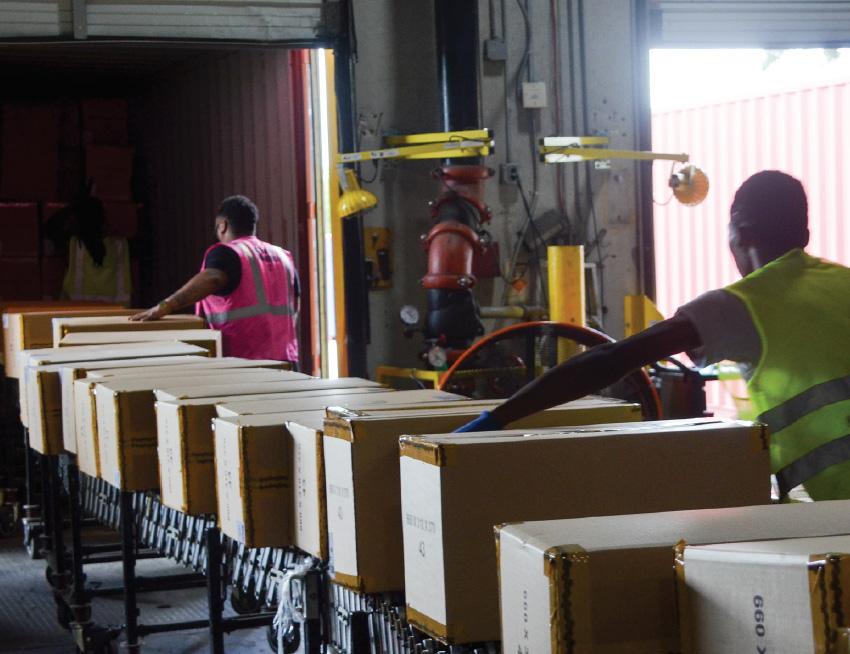 Warehouse labor