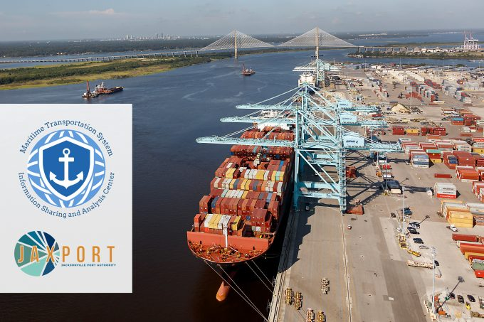 The Jacksonville Port Authority (JAXPORT) has partnered with the nonprofit Maritime Transportation System Information Sharing and Analysis Center (MTS-ISAC) to form a new cybersecurity information sharing cooperative