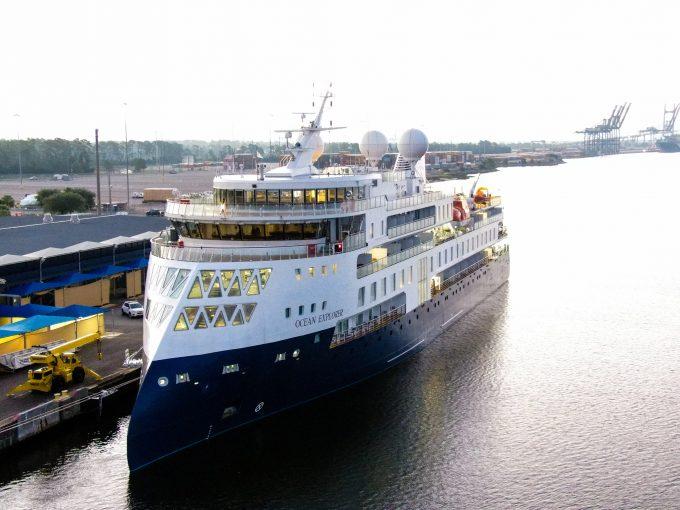 Ocean Explorer Ship